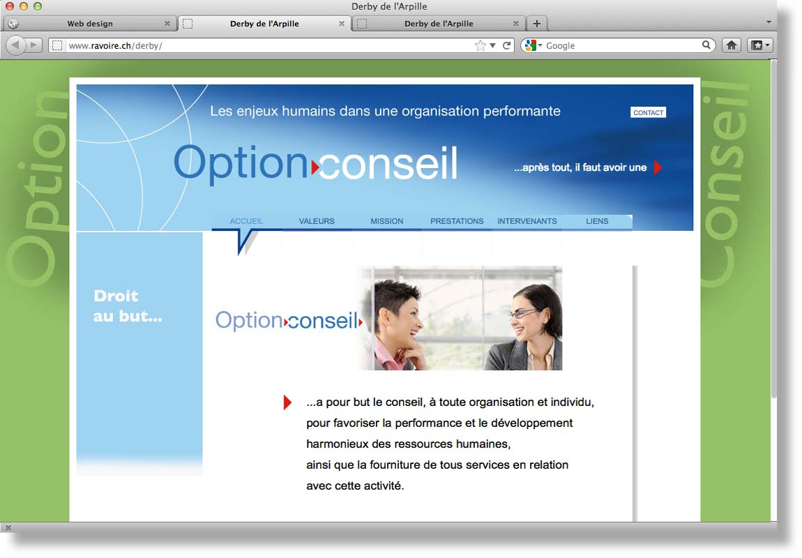 Site OptionConseil
